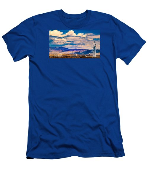 Tilting At Windmills Men's T-Shirt (Athletic Fit)