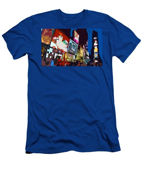 Times Square Men's T-Shirt (Slim Fit) by Christopher Woods