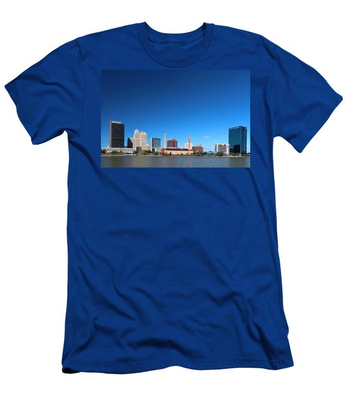 Toledo Skyline I Men's T-Shirt (Athletic Fit)