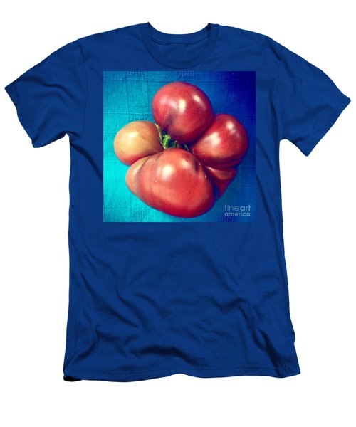 Tomatoe Men's T-Shirt (Slim Fit) by Suzanne Lorenz