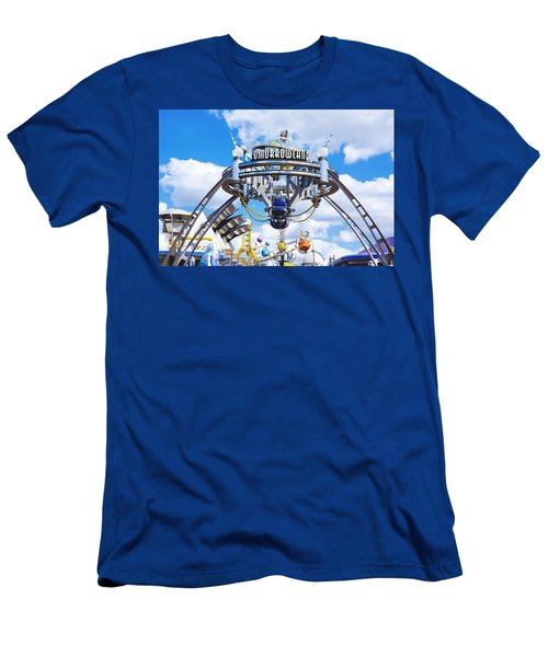 Tomorrowland Men's T-Shirt (Slim Fit) by Greg Fortier
