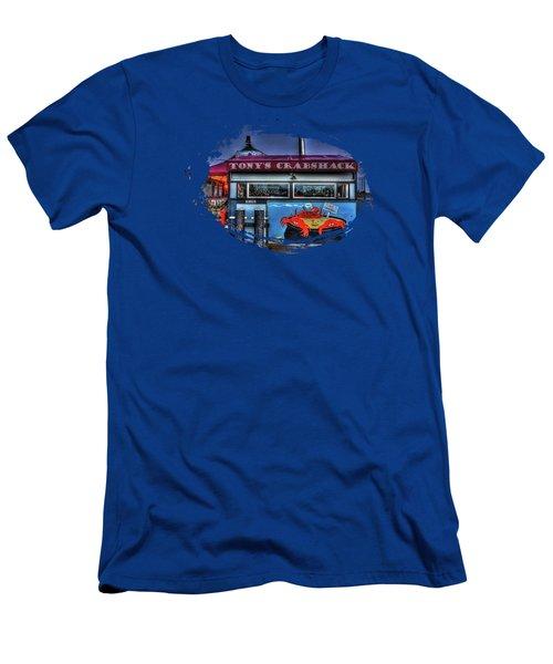 Tonys Crabshack Men's T-Shirt (Athletic Fit)