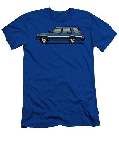 Toyota Tercel Sr5 4wd Wagon Al25 Blue Men's T-Shirt (Athletic Fit)