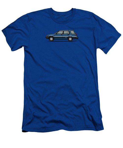 Toyota Tercel Sr5 4wd Wagon Al25 Blue Men's T-Shirt (Athletic Fit)