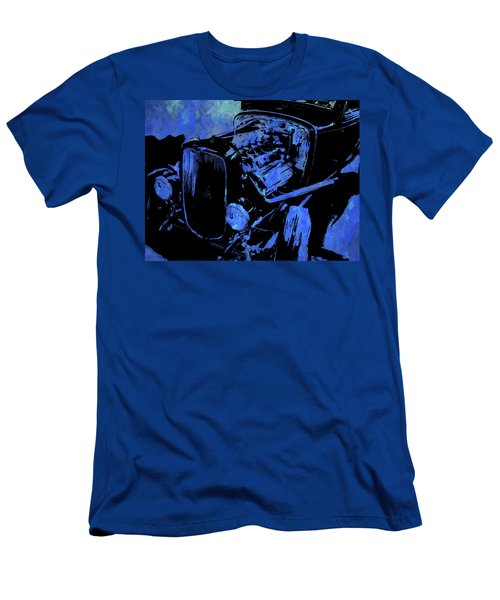 Traditional Hemi Pop Blue Men's T-Shirt (Athletic Fit)