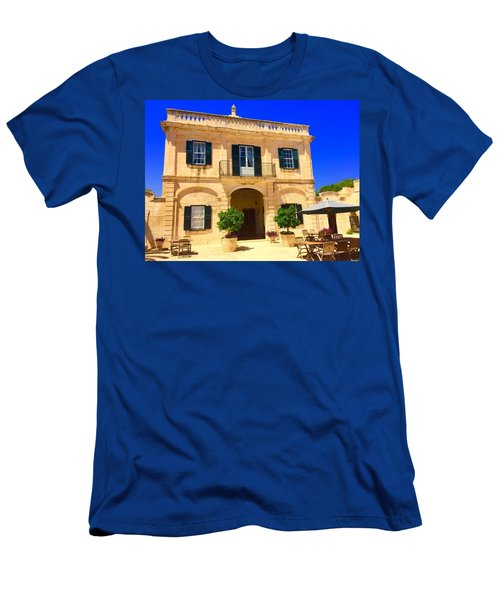 Traditional Menorcan Farmhouse Men's T-Shirt (Athletic Fit)