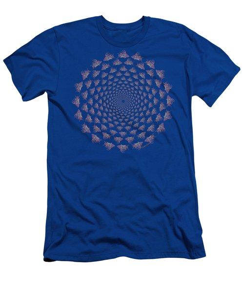 Tribal Hogfish Happenings Men's T-Shirt (Athletic Fit)