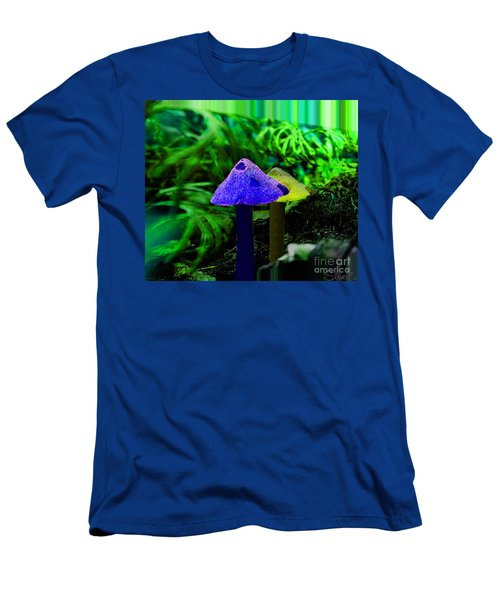 Trippy Shroom Men's T-Shirt (Athletic Fit)