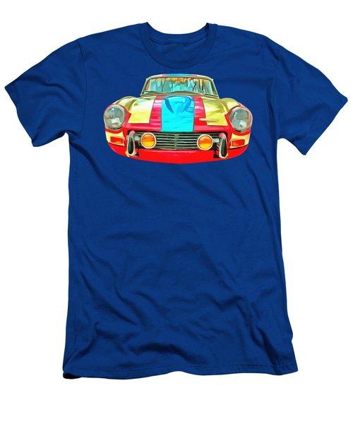 Triumph Gt6 Plus Transparent Men's T-Shirt (Athletic Fit)
