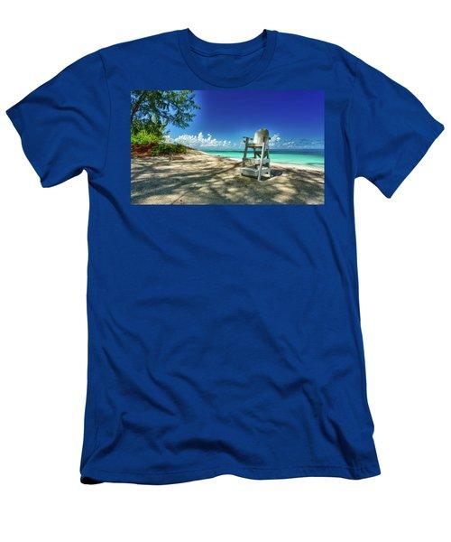 Tropical Beach Chair Men's T-Shirt (Athletic Fit)