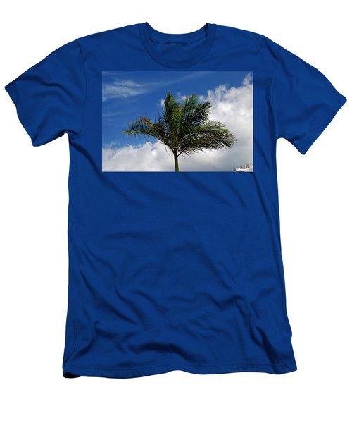 Tropical Breeze Men's T-Shirt (Athletic Fit)