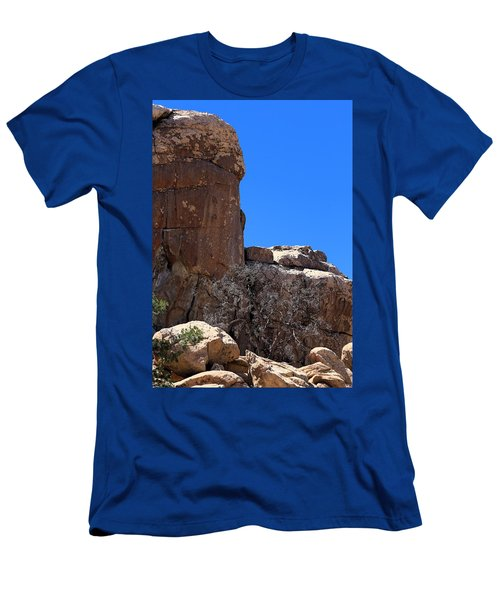 Men's T-Shirt (Slim Fit) featuring the photograph Trunk Made Of Stone by Viktor Savchenko