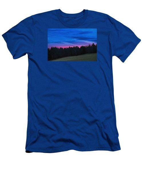 Twilight Field Men's T-Shirt (Slim Fit) by Tom Singleton