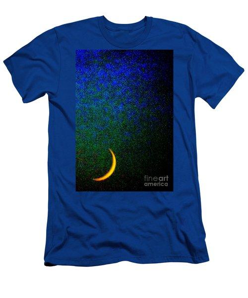 Cornicopial Cresent Moon  Men's T-Shirt (Athletic Fit)