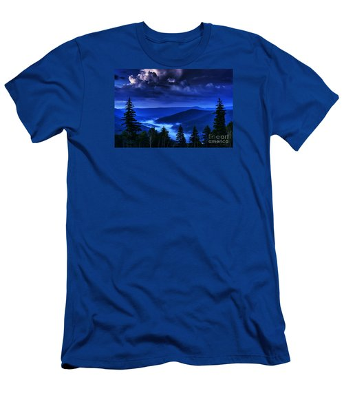 Twilight Thunderhead Men's T-Shirt (Slim Fit) by Thomas R Fletcher