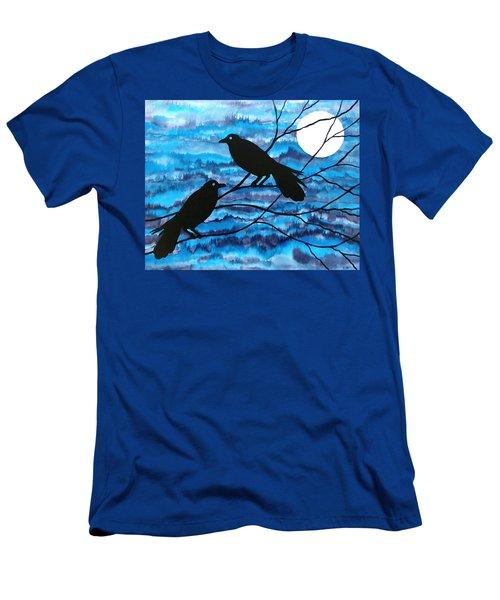 Two Ravens Men's T-Shirt (Athletic Fit)