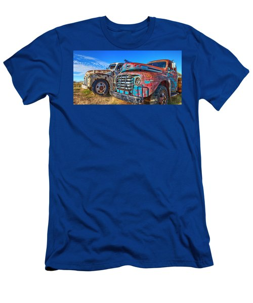 Two Trucks Men's T-Shirt (Athletic Fit)