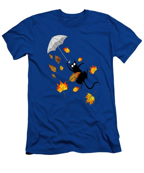 Umbrella Men's T-Shirt (Slim Fit) by Andrew Hitchen