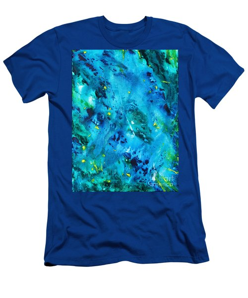 Underwater Forest Men's T-Shirt (Athletic Fit)