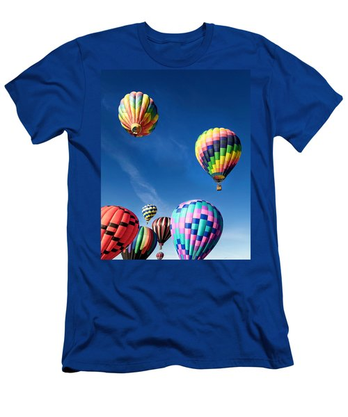 Up In A Hot Air Balloon 2 Men's T-Shirt (Athletic Fit)