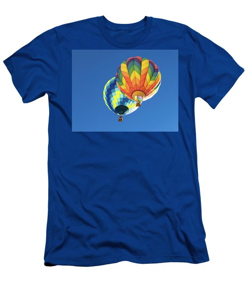 Up In A Hot Air Balloon Men's T-Shirt (Athletic Fit)