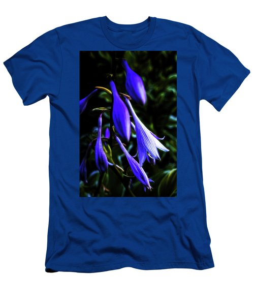 Varigated Hosta Bloom Men's T-Shirt (Athletic Fit)