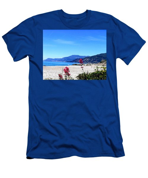 Men's T-Shirt (Athletic Fit) featuring the photograph Ventimiglia Italia by Michelle Dallocchio