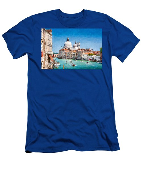 View Of Canal Grande Men's T-Shirt (Athletic Fit)