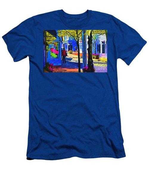 Village Shopping Men's T-Shirt (Athletic Fit)
