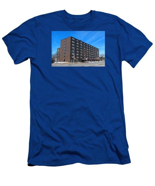 Men's T-Shirt (Slim Fit) featuring the photograph Vistula Manor by Michiale Schneider