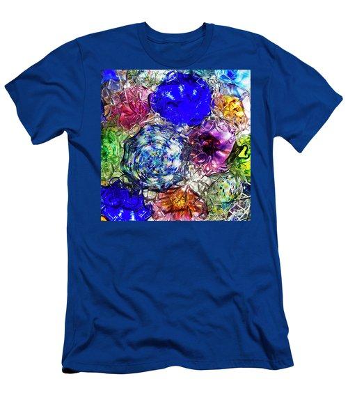 Vitreous Flora Men's T-Shirt (Slim Fit) by Gary Holmes