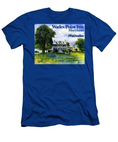 Wades Point Inn Shirt Men's T-Shirt (Athletic Fit)