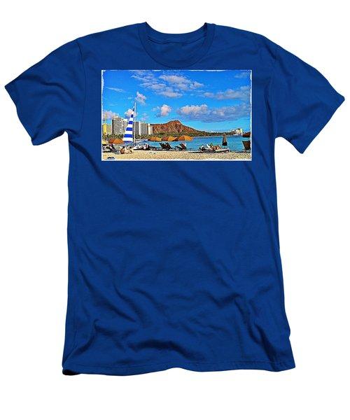 Waikiki Men's T-Shirt (Athletic Fit)