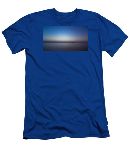 Waiting For A New Day Men's T-Shirt (Slim Fit) by Andreas Levi