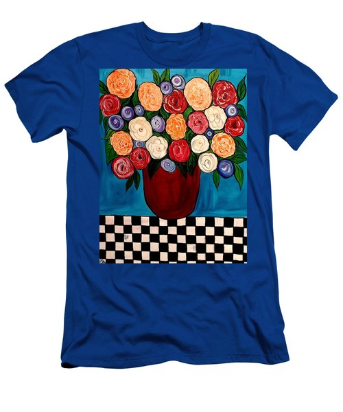 Waiting For My Turn Men's T-Shirt (Slim Fit) by Lisa Aerts