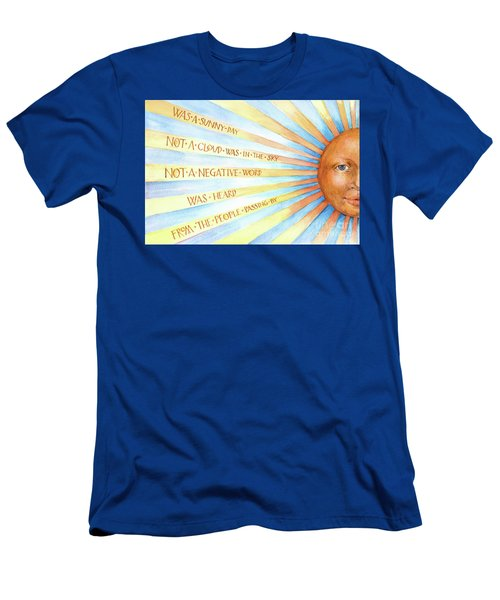 Was A Sunny Day Men's T-Shirt (Athletic Fit)