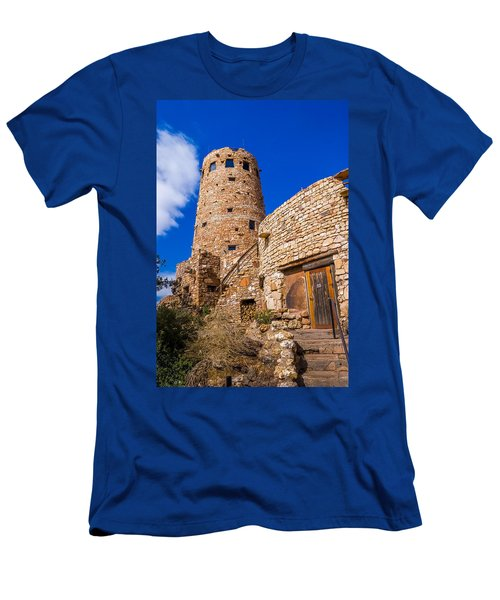 Watch Tower Men's T-Shirt (Slim Fit) by Jerry Cahill