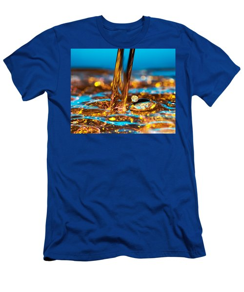 Water And Oil Men's T-Shirt (Athletic Fit)