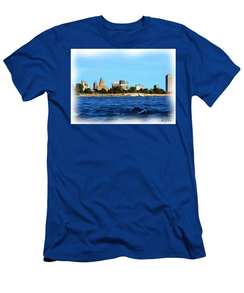 Waterfront Decay Four Men's T-Shirt (Athletic Fit)