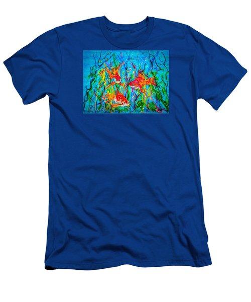 Watery Wonderland Men's T-Shirt (Athletic Fit)