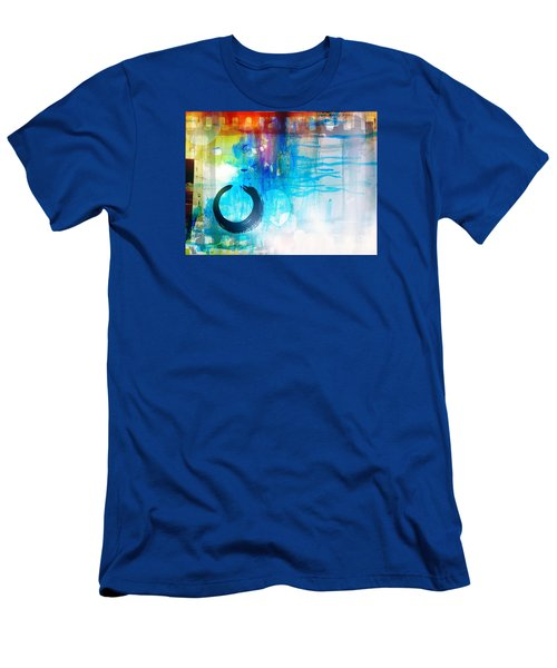 Men's T-Shirt (Slim Fit) featuring the photograph Wave by France Laliberte