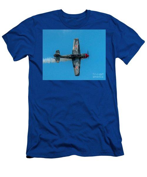 Waving Men's T-Shirt (Athletic Fit)