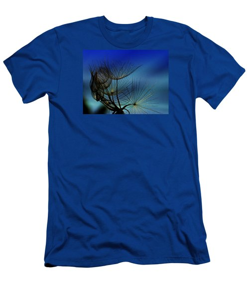 Men's T-Shirt (Slim Fit) featuring the photograph Weeds Can Be Beautiful.... by Judy  Johnson