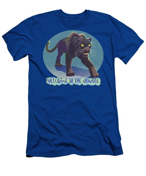 Welcome To The Jungle Men's T-Shirt (Athletic Fit)