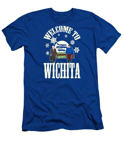 Welcome To Wichita  Men's T-Shirt (Athletic Fit)
