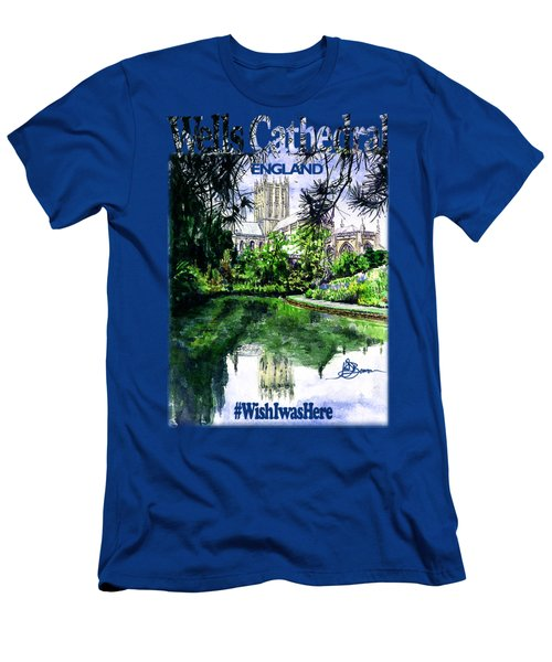 Wells Cathedral Shirt Men's T-Shirt (Athletic Fit)
