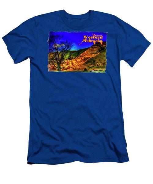 Western Nebraska Near Chimney Rock Men's T-Shirt (Athletic Fit)