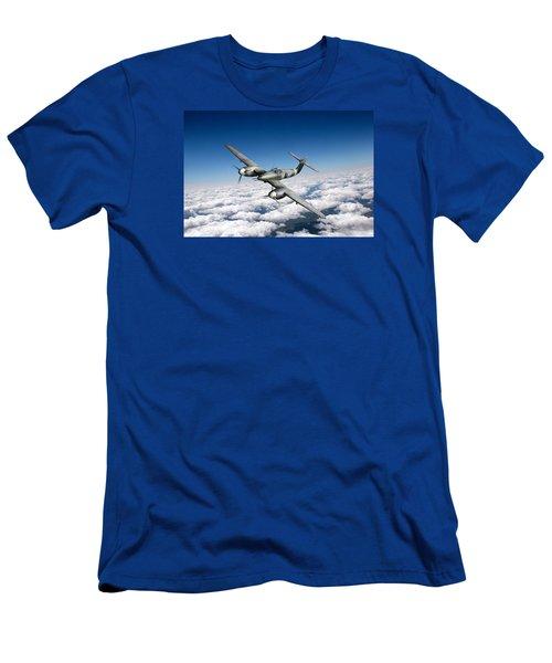 Westland Whirlwind Portrait Men's T-Shirt (Slim Fit) by Gary Eason