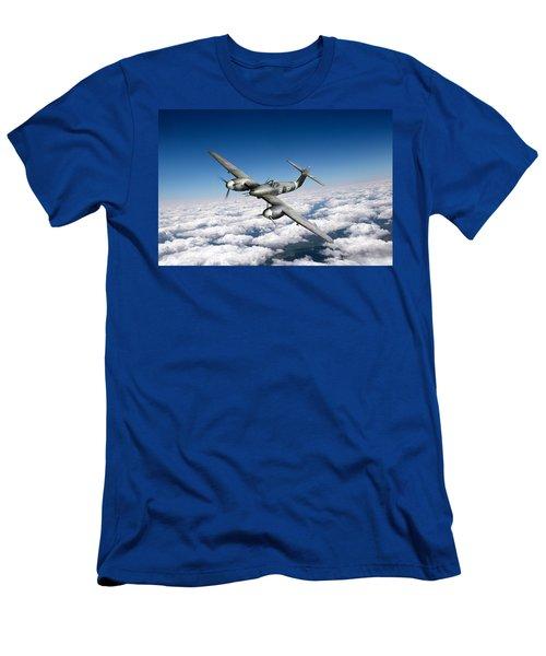 Westland Whirlwind Portrait Men's T-Shirt (Athletic Fit)