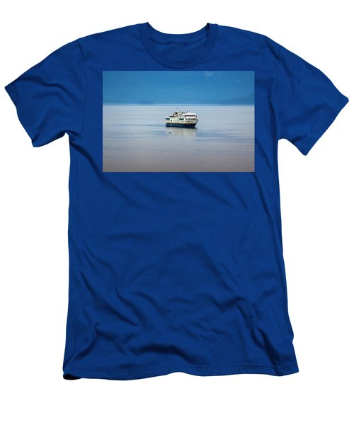 Whale Watching In Glacier Bay Men's T-Shirt (Athletic Fit)